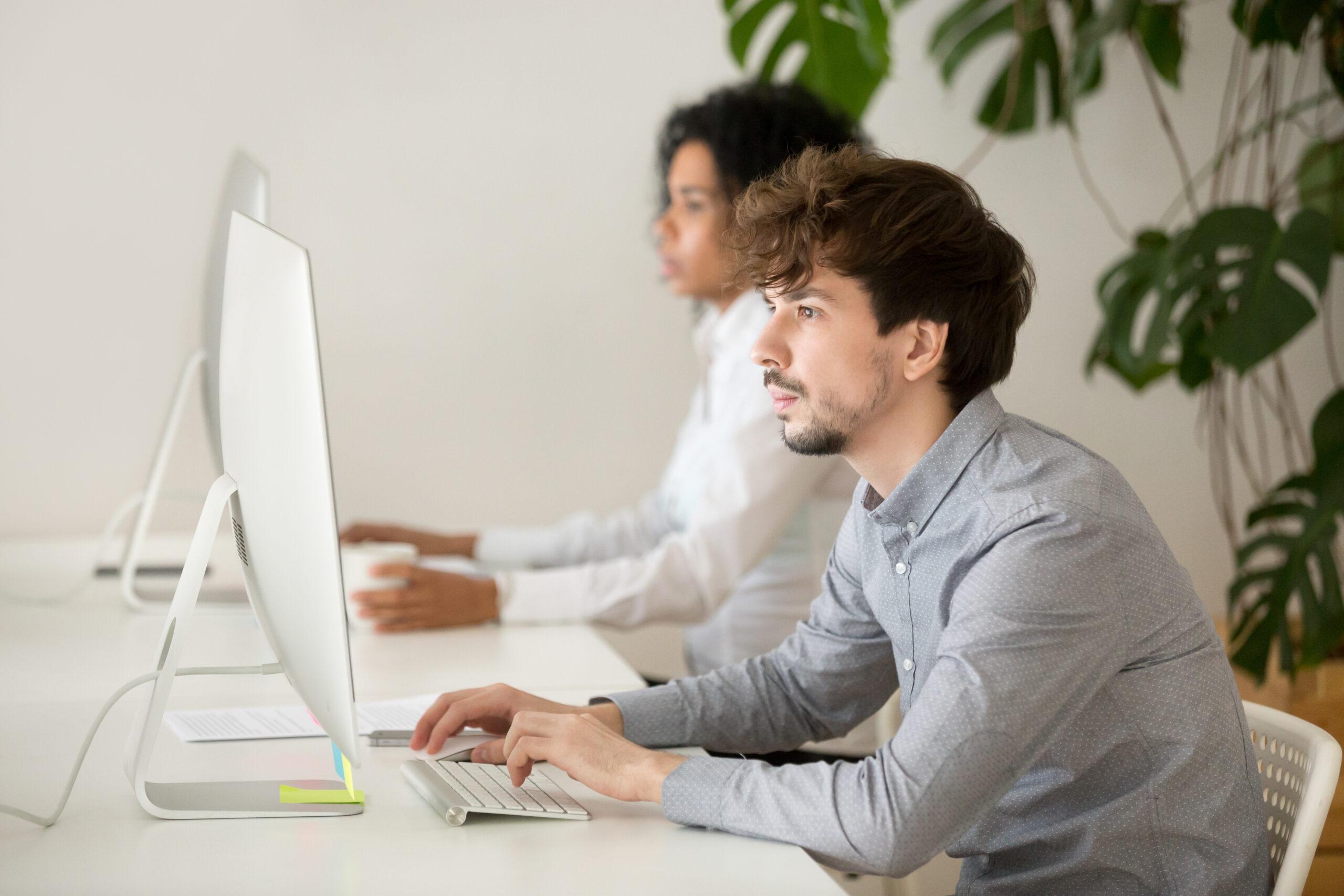 כללי בסיס לישיבה נכונה מול מחשב נייח