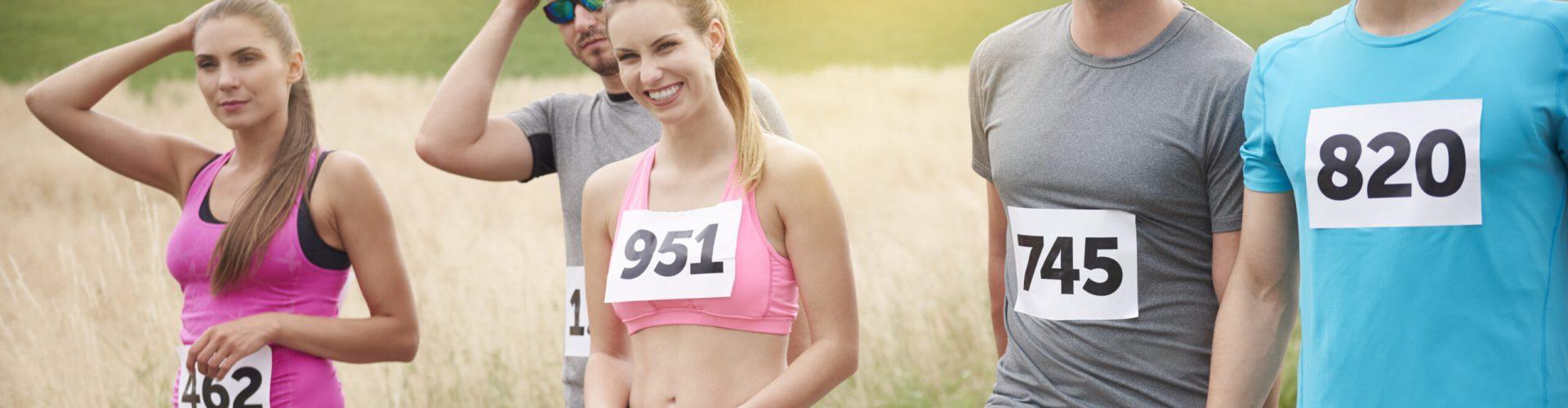 In good moods in the marathon